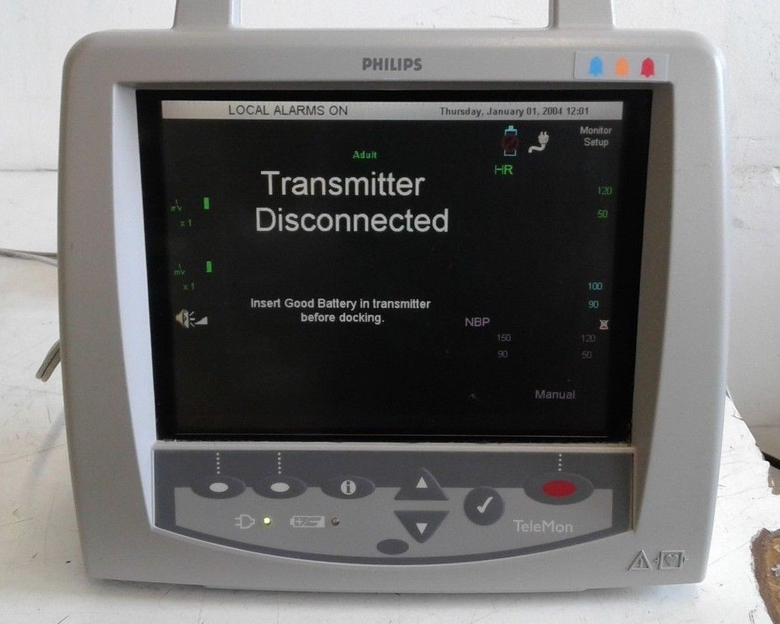 Philips portable telemetry monitor